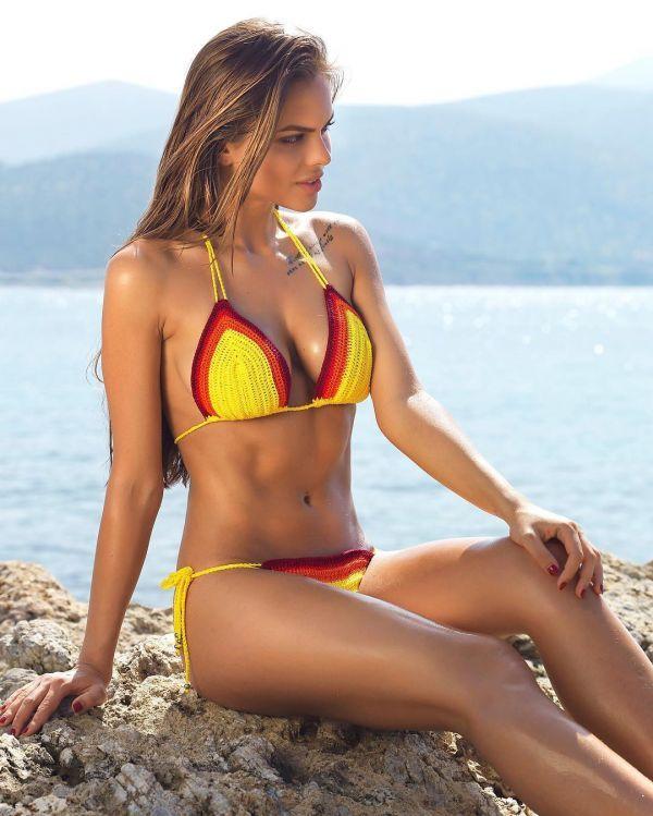 Пляжная одежда ReVeal CroChet Swimwear Фото - вязаные купальники (стильные подборки) / Страница - 3