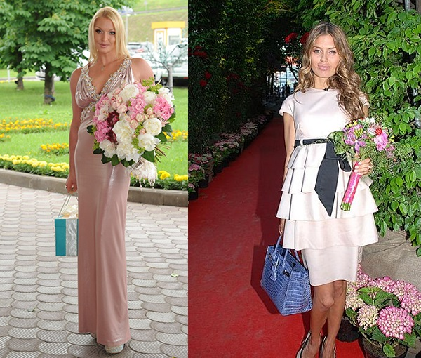 Виктория Боня и Анастасия Волочкова