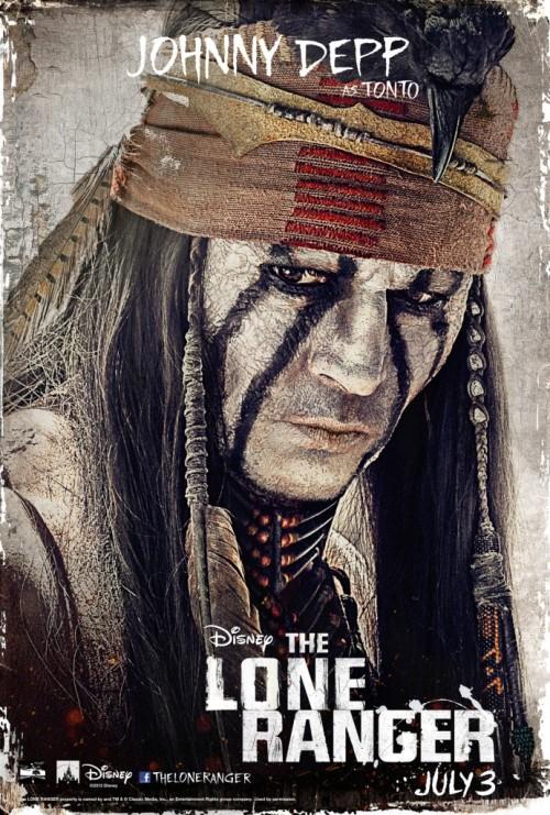 Постеры фильма с Джонни Деппом Одинокий рейнджер