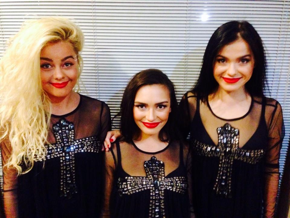 Новый состав группы Серебро 2013 года - Елена Темникова, Ольга Серябкина и Даша Шашина