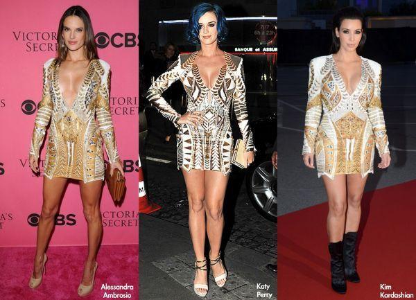 Фотоподборка бело-золотых платьев Balmain коллекция весна 2012 - Фото / Страница - 8