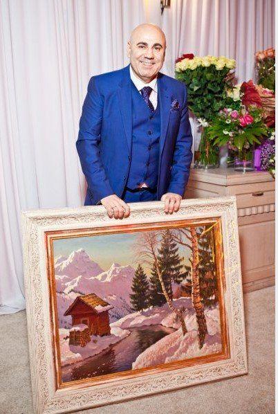 Иосиф Пригожин отпраздновал день рождения
