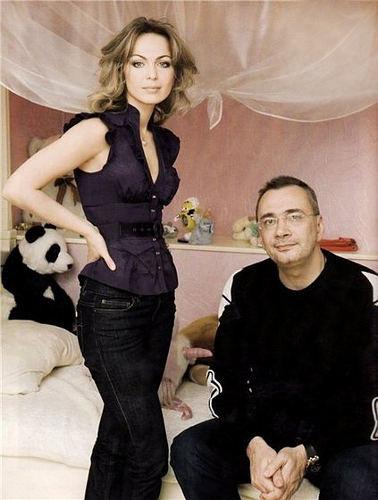 Константин Меладзе и жена Яна