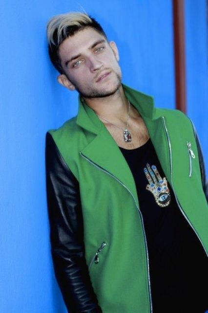 Вэл Никольский Фото (Val Nikolski Photo) участник Каникулы в Мексике, певец, модел
