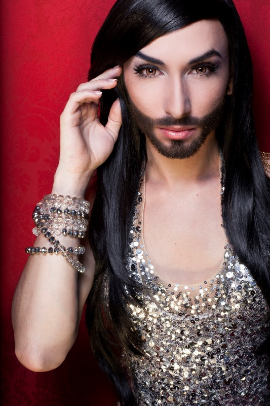 Conchita Wurst Photo (Кончита Вурст Том Ньюверз Фото) певец из Австрии, участник Евровидение 2014 / Страница - 3