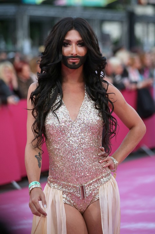 Conchita Wurst Photo (Кончита Вурст Том Ньюверз Фото) певец из Австрии, участник Евровидение 2014 / Страница - 6