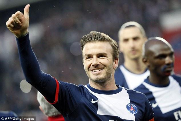 David Beckham Photo (Дэвид Бекхэм Фото) футболист, муж Виктории Бекхэм / Страница - 1