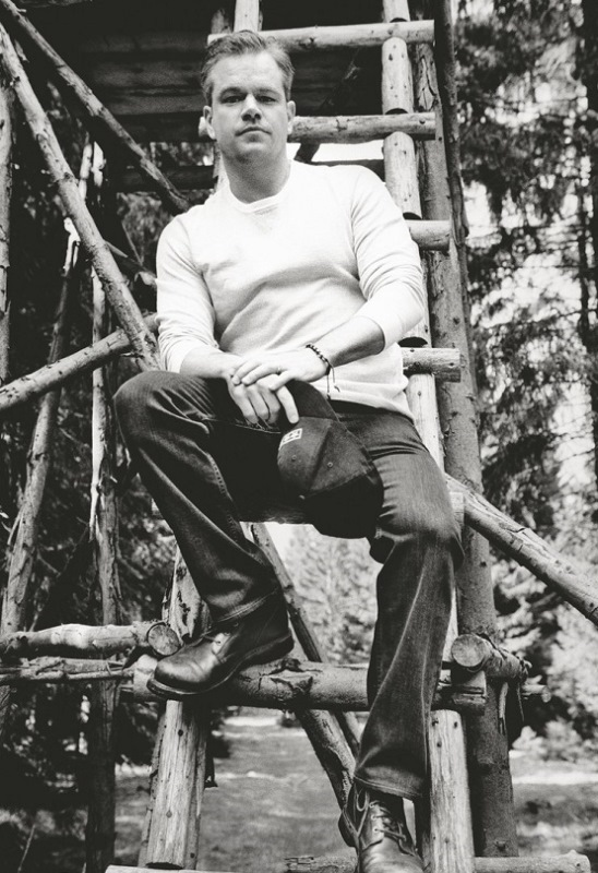 Голливудский актер Мэтт Деймон снялся для журнала Esquire Matt Damon Photo (Мэтт Деймон Фото) голливудский американский актер / Страница - 4