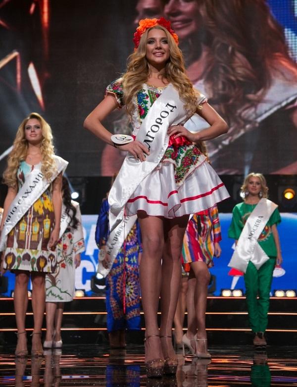 Анастасия Михайлюта получила титул «Юная Красой России» 2