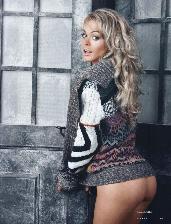 Анна Хилькевич стала героиней зимнего номера Playboy