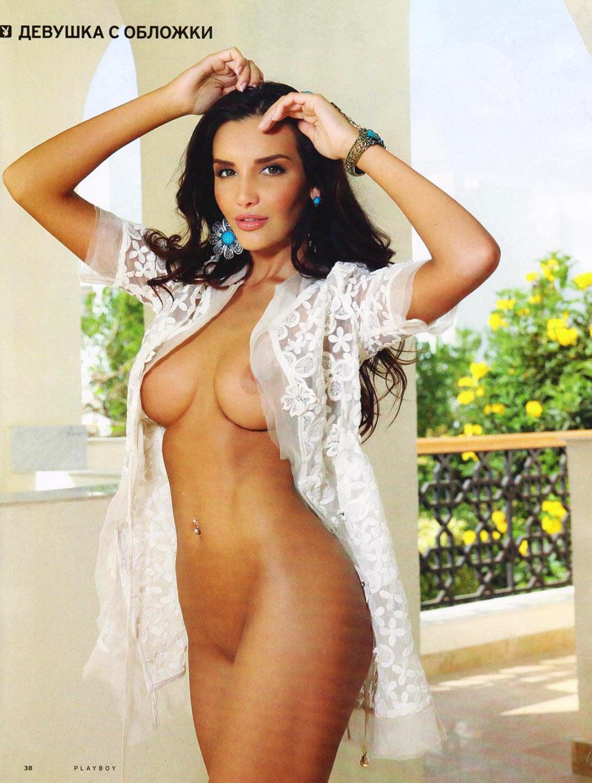Богдана Назарова снялась в Playboy