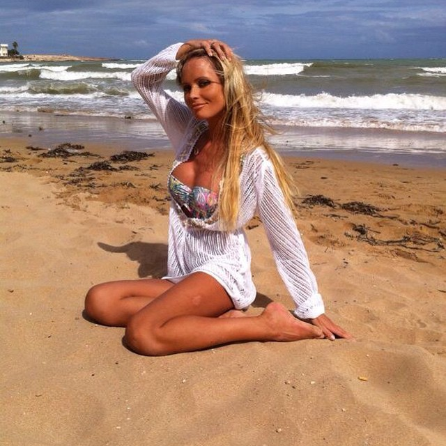 Дана Борисова в купальнике на отдыхе в Турции