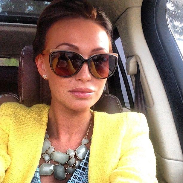 Екатерина Малафеева за рулем угнанного Range Rover Vogue
