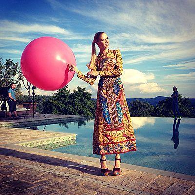 Елена Перминова Фото (Elena Perminova Photo) in girl