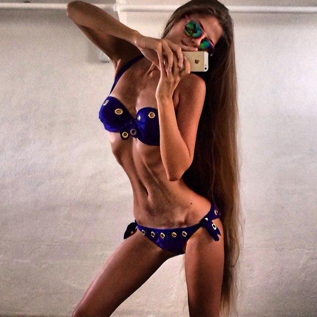 Инга Волкош Фото (Inga Volkosh) модель с длинными волосами / Страница - 9