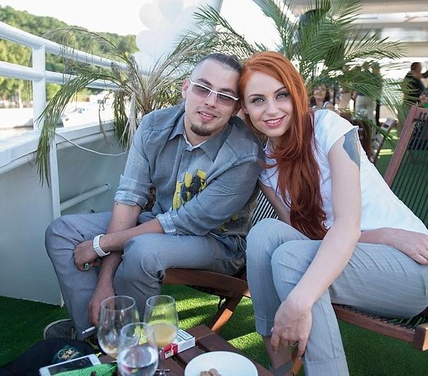 Ирина Забияка с гражданским мужем Вячеславом Бойковым