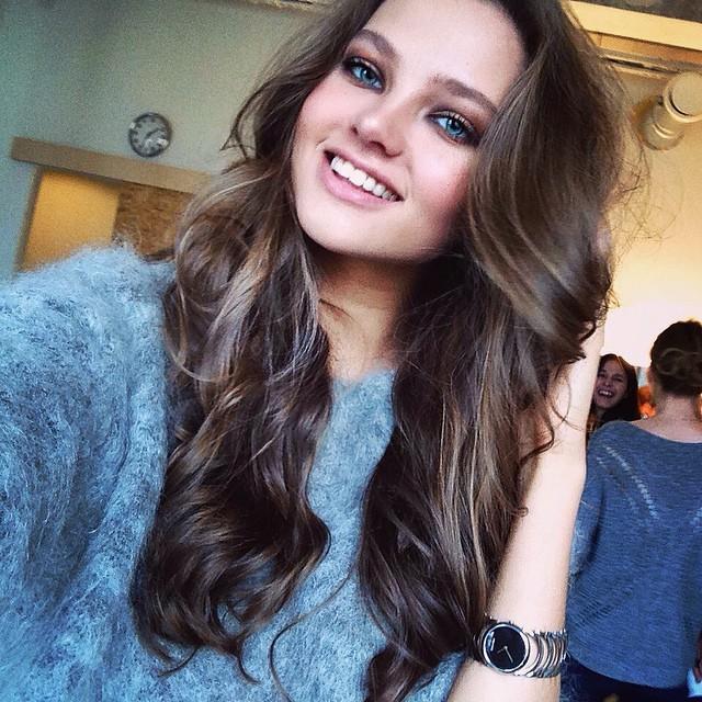 Леся Кафельникова (Леся Каф, Lesya Kafelnikova) Биография - модель, дочка Евгения Кафельникова