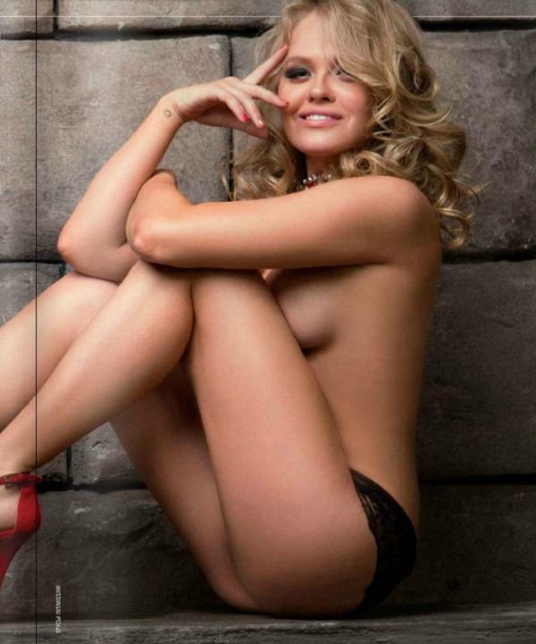 Мила Блюм в журнале Maxim июнь 2014