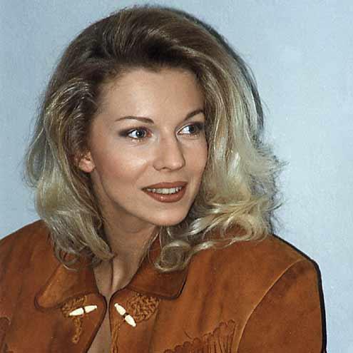 Наталья Ветлицкая в молодости. Фото