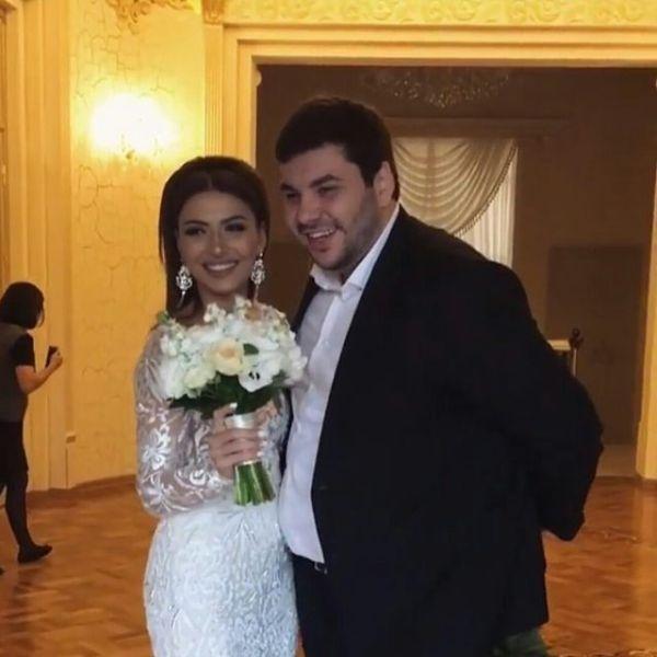 Самира Гаджиева и Арчи-М (Артур Магомедов): свадьба октябрь 2016 - фото