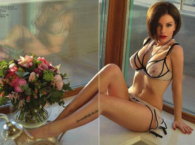 Юля Волкова снялась в журнале Playboy июнь 2014