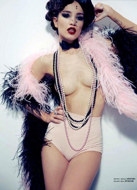 Виктория Дайнеко для журнала Playboy сентябрь 2013
