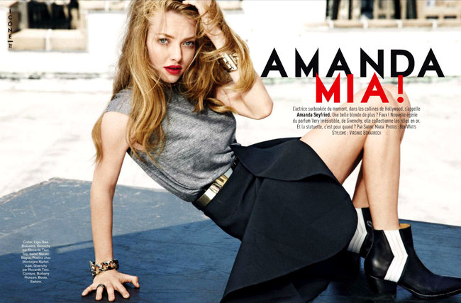 Amanda Seyfried Photo (Аманда Сейфрид Фото) актриса, певица / Страница - 4