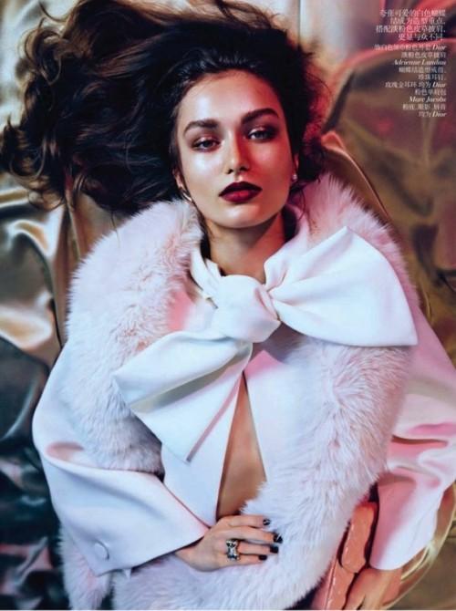 Andreea Diaconu Photo (Андреа Дьякони Фото) румынская модель