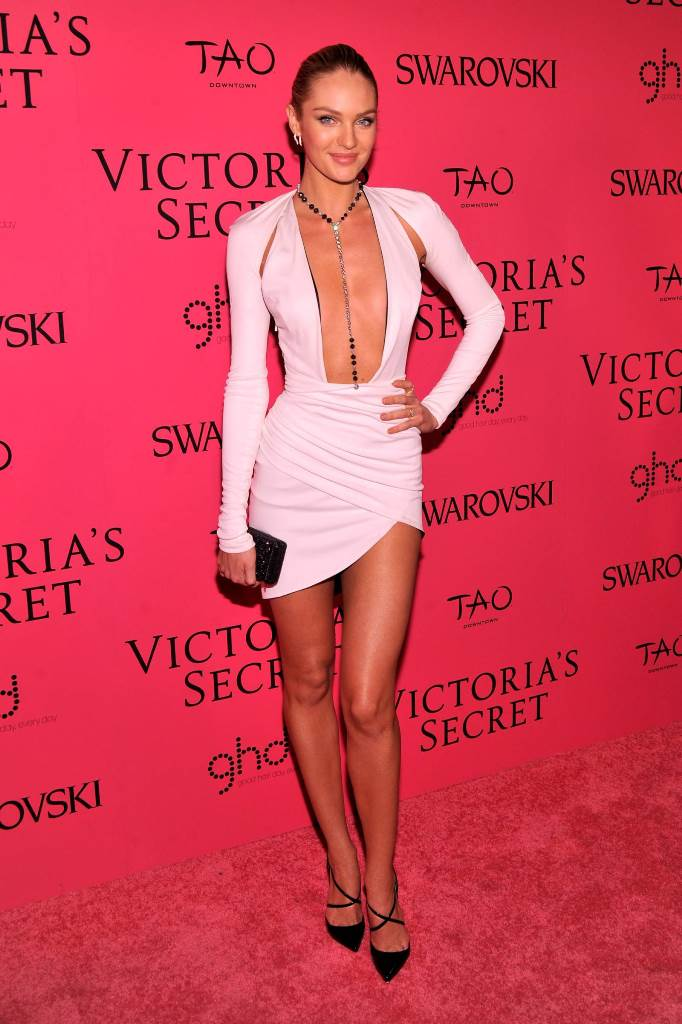 Кэндис Свейнпол Victoria's Secret Fashion Show
