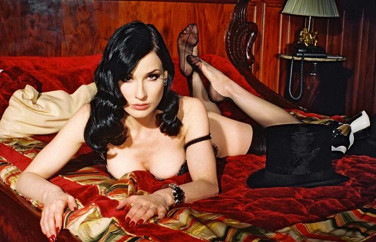 Dita Von Teese Photo (Дита Фон Тиз Фото) американская модель, актриса, певица, бывшая Мерлина Менсона / Страница - 20