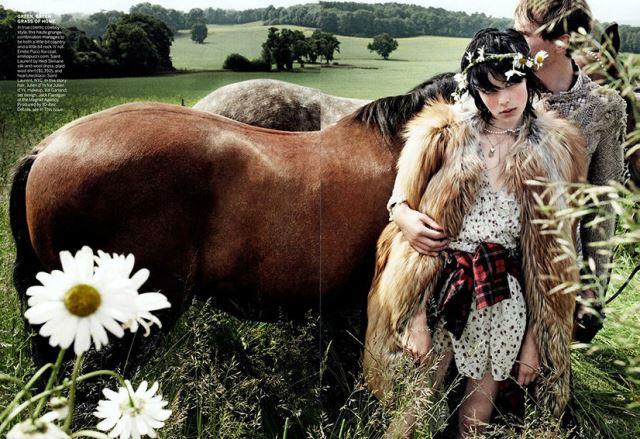 Edie Campbell Photo (Эди Кэмпбелл Фото) британская модель
