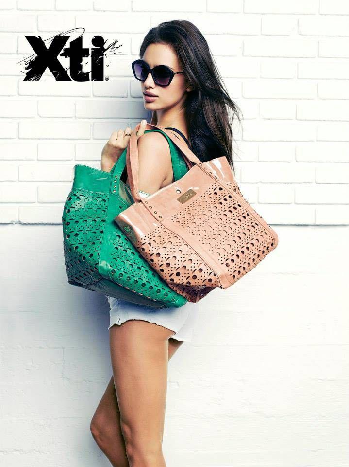 Модель Ирина Шейк в рекламной кампании XTI