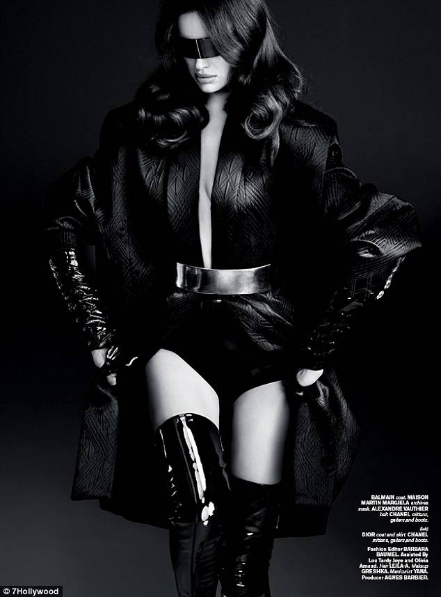 Модель Ирина Шейк в откровенной фотосессии для журнала 7 Hollywood