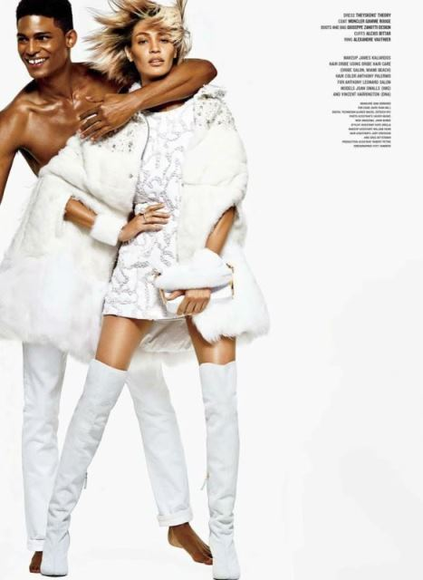 Joan Smalls Photo (Джоан Смоллс Фото) пуэрториканская топ-модель / Страница - 2