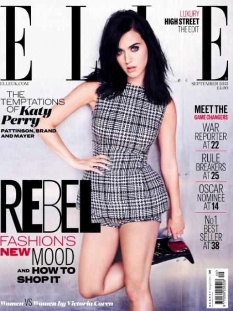 Кэти Перри появилась на обложке журнала ELLE Katy Perry Photo (Кети Перри Фото) американская певица
