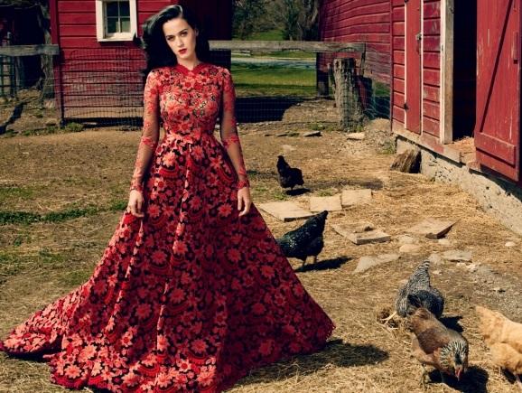 Американская певица Кети Перри примерила деревенский образ в Vogue Katy Perry Photo (Кети Перри Фото) американская певица / Страница - 2