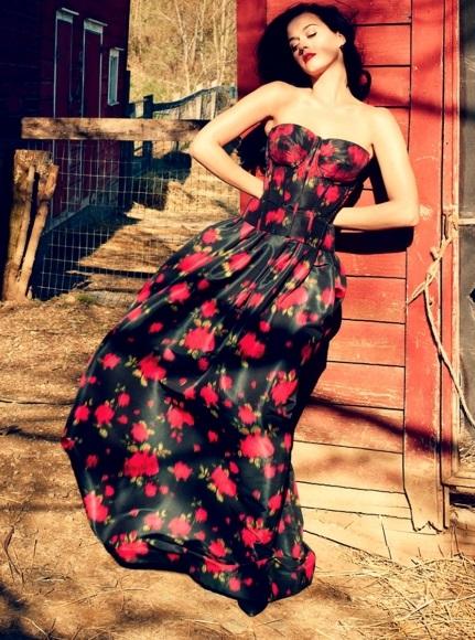 Американская певица Кети Перри примерила деревенский образ в Vogue Katy Perry Photo (Кети Перри Фото) американская певица / Страница - 3