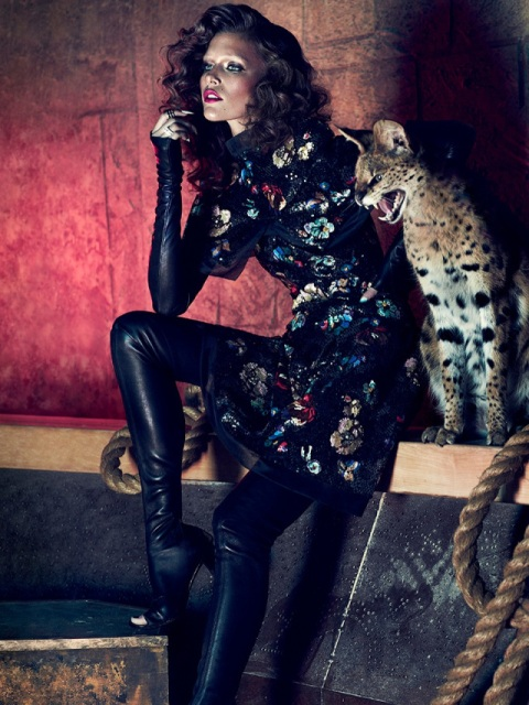 Kim Cloutier Photo (Ким Клотье Фото) канадская топ-модель / Страница - 1