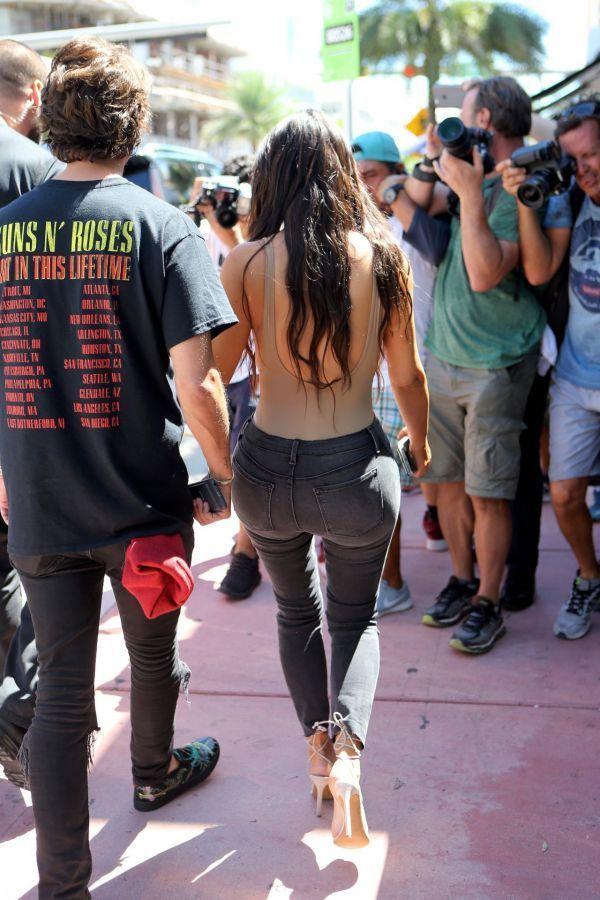 Kim Kardashian (Kimberly Noel Kardashian/Ким Кардашян) Фото амриканская модель, дизайнер, прославилась секс-видео / Страница - 5