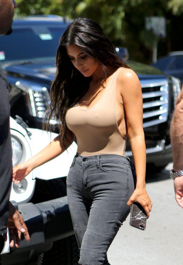 Kim Kardashian (Kimberly Noel Kardashian/Ким Кардашян) Фото амриканская модель, дизайнер, прославилась секс-видео / Страница - 8