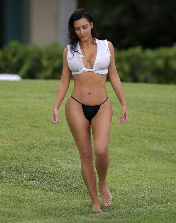 Kim Kardashian (Kimberly Noel Kardashian/Ким Кардашян) Фото амриканская модель, дизайнер, прославилась секс-видео / Страница - 6