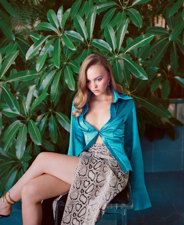 Лили Роуз Депп (Lily Rose Depp) Фото - модель, дочка Джонни Деппа / Страница - 2