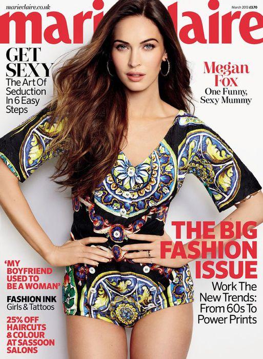 Актриса Меган Фокс рассказала о личном журналу Marie Claire Megan Fox Photo (Меган Фокс Фото) американская голливудская актриса / Страница - 12
