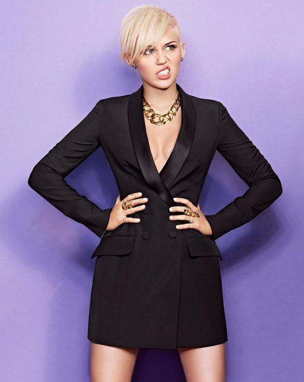 Майли Сайрус рассуждает о будущем в Cosmopolitan Miley Cyrus Photo (Майли Сайрус Фото) американская актриса и певица / Страница - 1
