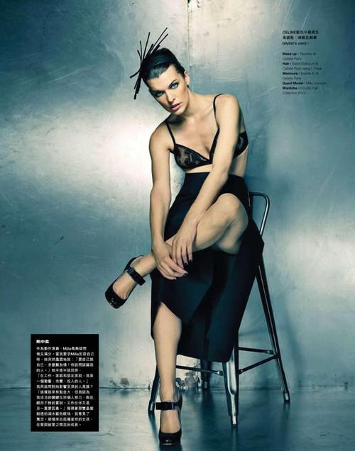 Milla Jovovich Photo (Милла Йовович Фото) американская актриса / Страница - 1