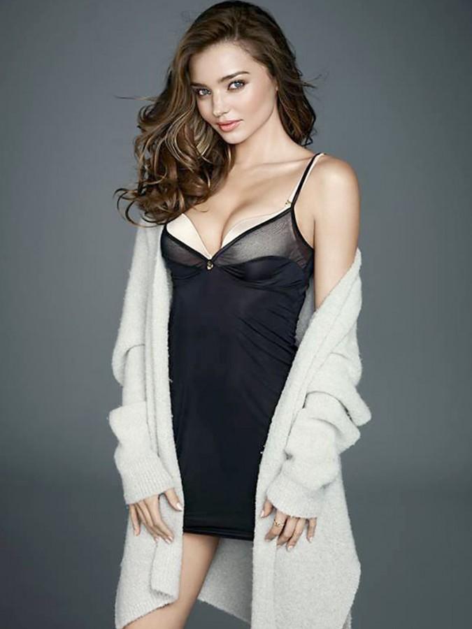 Миранда Керр появилась в новой фотосессии нижнего белья Wonderbra