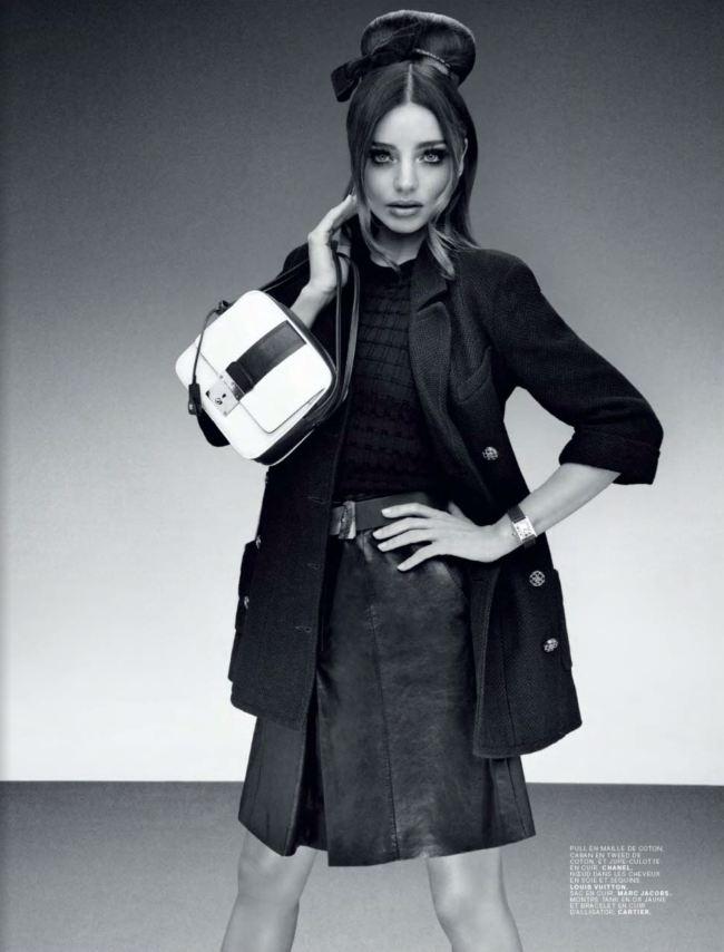 Модель Миранда Керр в фотосессии 60-х годов для Jalouse Miranda Kerr Photo (Миранда Керр Фото) американская модель / Страница - 3