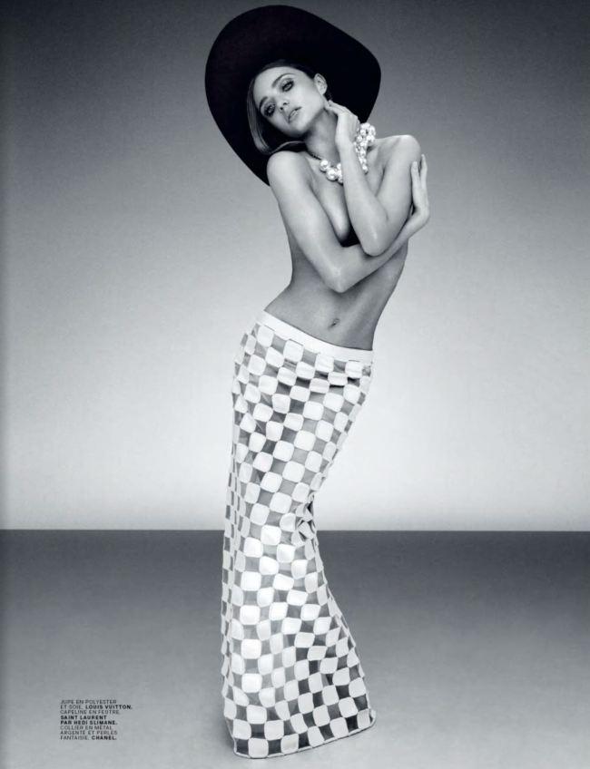 Модель Миранда Керр в фотосессии 60-х годов для Jalouse Miranda Kerr Photo (Миранда Керр Фото) американская модель / Страница - 4