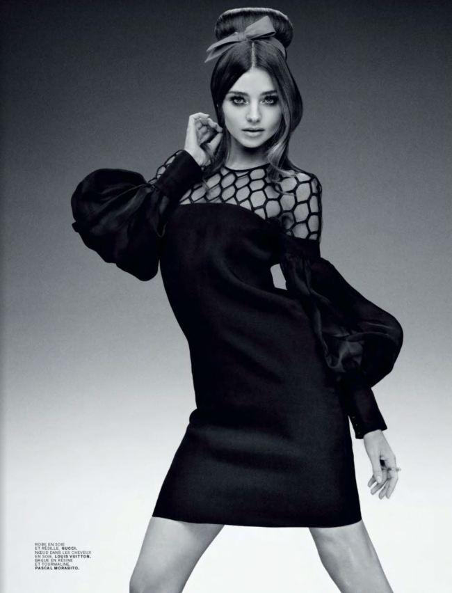 Модель Миранда Керр в фотосессии 60-х годов для Jalouse Miranda Kerr Photo (Миранда Керр Фото) американская модель / Страница - 6