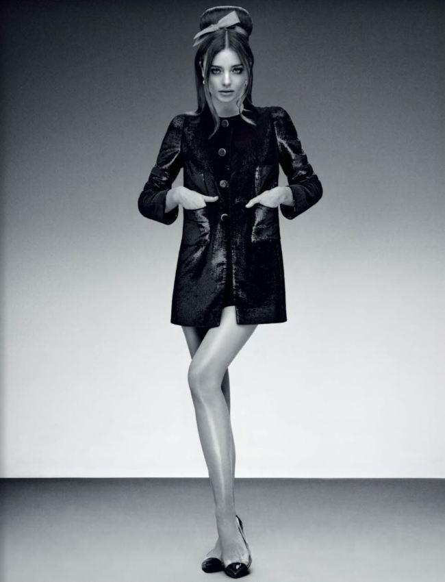 Модель Миранда Керр в фотосессии 60-х годов для Jalouse Miranda Kerr Photo (Миранда Керр Фото) американская модель / Страница - 7
